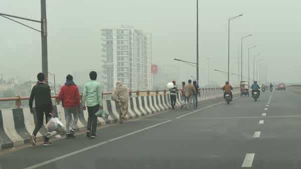 The AQI for each city is based on the average value of all monitoring stations and Greater Noida has two such stations  (PTI)