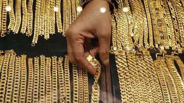Gold prices have fallen close to  ₹46,000 levels (REUTERS)