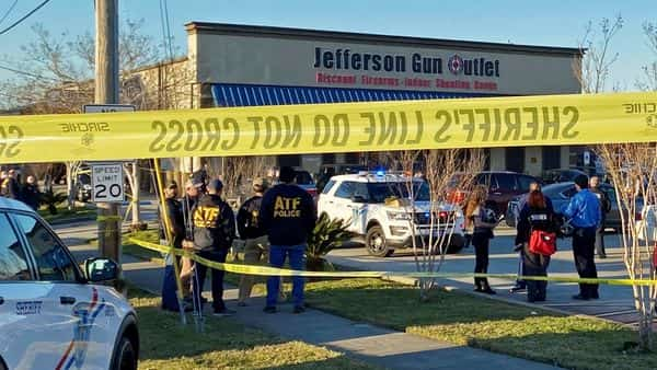 Sheriff: 3 Dead in Gun Store Shooting in New Orleans Suburb