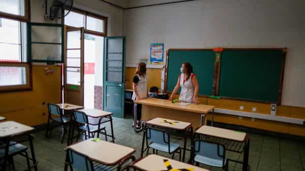 Transmission from teachers resulted in about half of 31 school-related cases, according to the investigation (REUTERS)