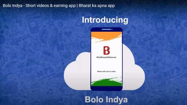 Bolo Indya has over 68 lakh users including 28.50 lakh creators, spread across 14 languages.