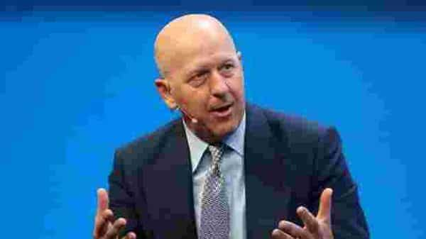The Goldman Sachs Group CEO repeated his desire to see the firm's offices fill up again ( Photo: Reuters)