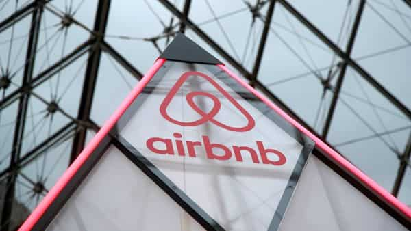 The Airbnb logo (REUTERS)