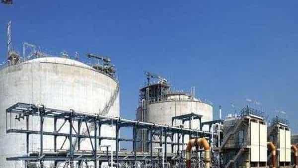 Photos of Shell LNG terminal at Hazira, Gujarat.