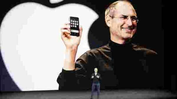 File Photo: Apple CEO Tim Cook kicks off an Apple event in the Steve Jobs Theater in Cupertino. Photo: AP