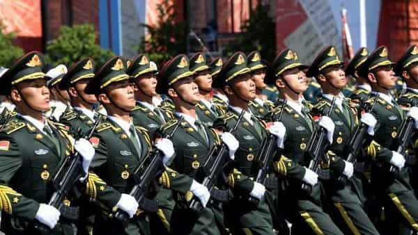 Soldiers of China's People's Liberation Army (Photo: Reuters)