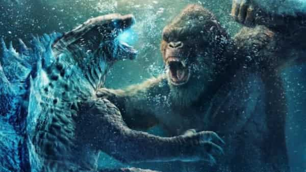 Starting with monster film Godzilla vs Kong, several US films are lined up for release in the coming weeks. (Source: Twitter @GodzillaMovies)
