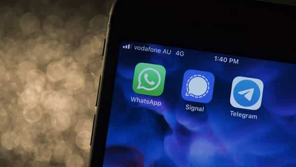 Signal and Telegram have gained millions of users from India over the past two months, WhatsApp has 530 million users in India, according to the government (Bloomberg)