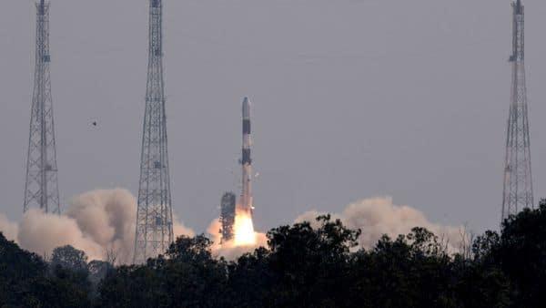 Sriharikota: ISRO launches the Brazilian satellite Amazonia-1 from the Satish Dhawan Space Centre in Sriharikota, Sunday, Feb. 28. 2021.  (PTI)