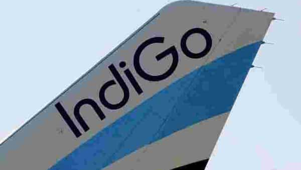 FILE PHOTO: A logo of IndiGo Airlines (REUTERS)