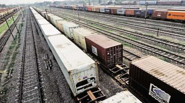 On a day to day basis, on 28th February, 2021, the freight loading of Indian Railways was 5.23 million tonnes, which is 36% higher compare to last year's loading for the same date. Photo: Mint