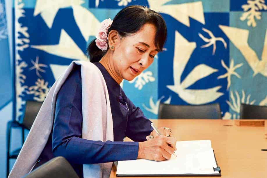 Suu Kyi was already facing obscure criminal charges for possessing unlicensed walkie-talkies, as well as violating coronavirus restrictions by staging a campaign