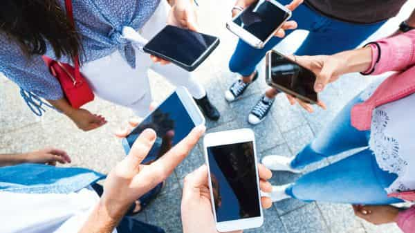 Mobile phones accounted for most of India's electronics exports by value.istock (MINT_PRINT)