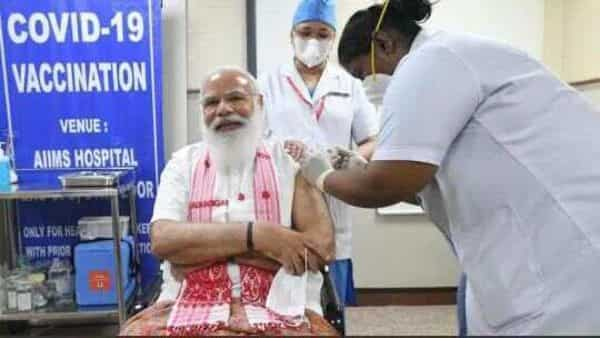 Sister P Niveda, the main nurse administered Bharat BioTech's Covaxin to PM Modi