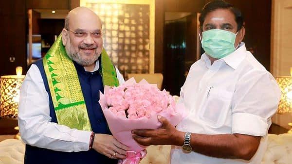 Union Home Minister Amit Shah meet Tamil Nadu Chief Minister Edappadi K Palaniswami