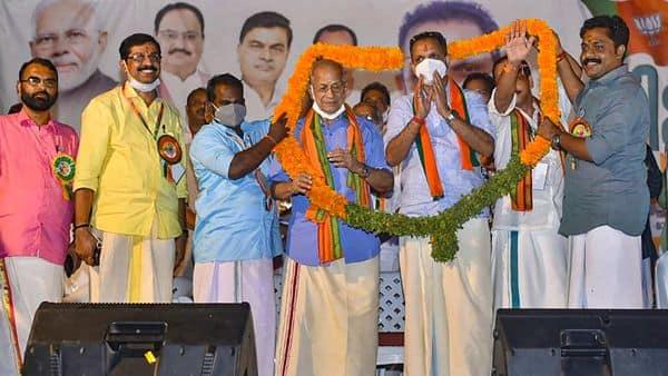 Metro Man E Sreedharan joined Bharatiya Janata Party (BJP) last week (PTI)
