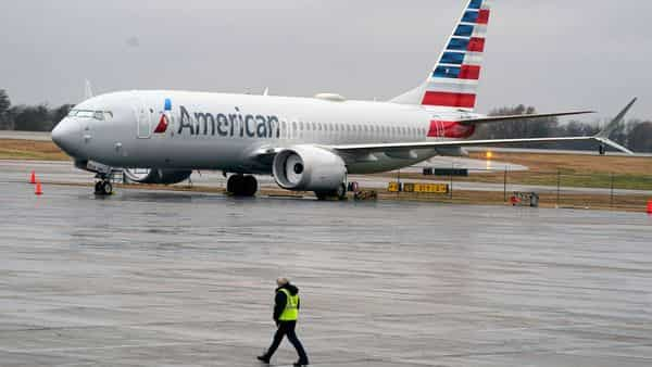 The Boeing Max was grounded worldwide for nearly two years after two crashes that killed 346 people. (AP)