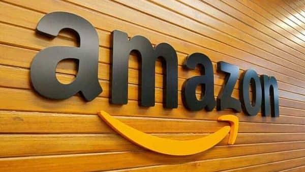 The logo of Amazon  (REUTERS)