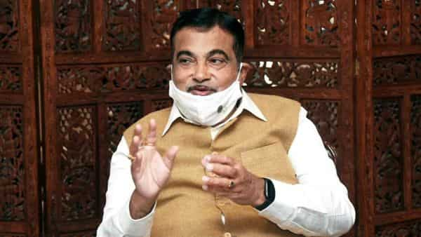 Union Minister of Road Transport & Highways, Micro, Small & Medium Enterprises Nitin Gadkari during the meeting with delegation of Society of Indian Automobile Manufacturers, in New Delhi on Tuesday. (ANI Photo)