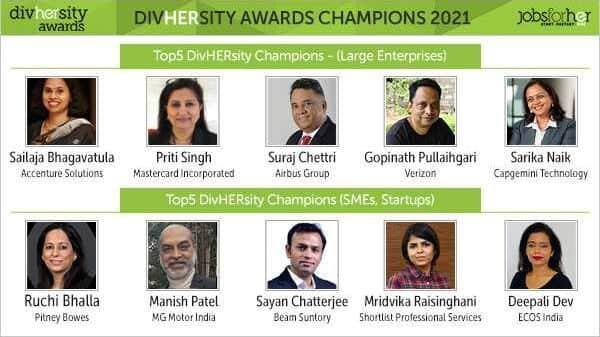 DivHERsity Awards 2021 - Winners