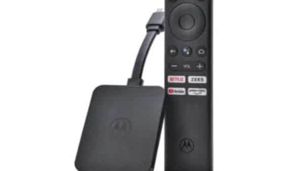 Motorola 4K Android TV Stick (Motorola)