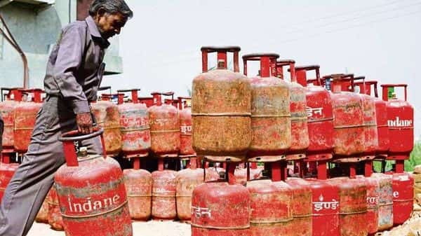 Retail prices of LPG are up 43% to  ₹819 a cylinder now from  ₹574 in March last year.