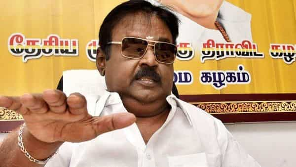 The DMDK led by actor-turned-politician Vijayakanth said it was moving out of the alliance.