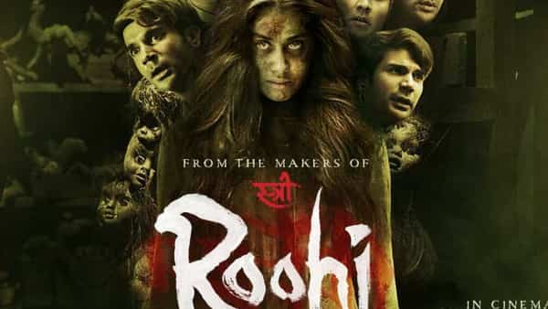The Rajkummar Rao and Jahnvi Kapoor-starrer has been made by the maker of Stree, and has the same haunted, small-town world as its setting. (Source: Twitter @SumitkadeI)