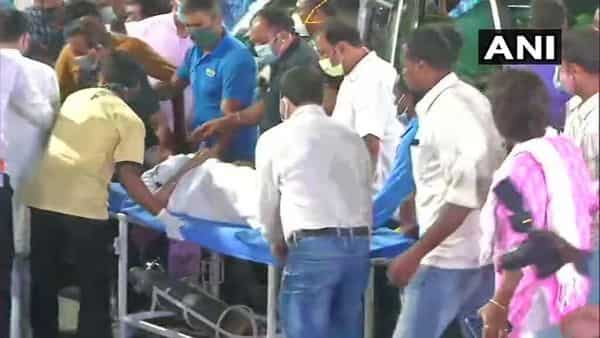 Mamata Banerjee claims she suffered an injury after a few people pushed her at Nandigram (ANI)