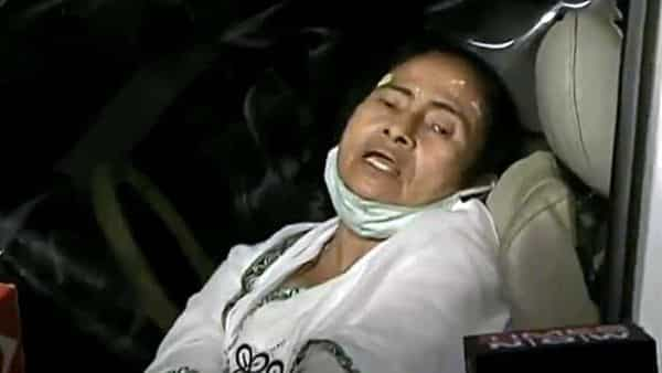 West Bengal CM Mamata Banerjee speaks to the media after being injured (ANI)