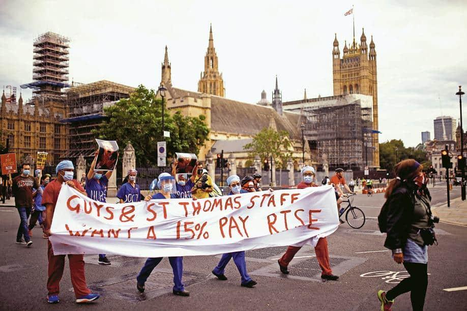 NHS debate clouds school reopening
