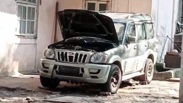 The suspicious car carrying gelatin found outside Mukesh Ambani residence Antilia