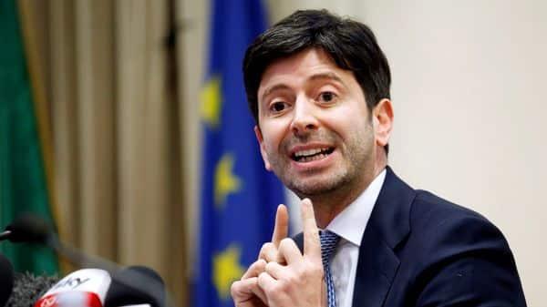 File Photo: Italian Health Minister Roberto Speranza (REUTERS)