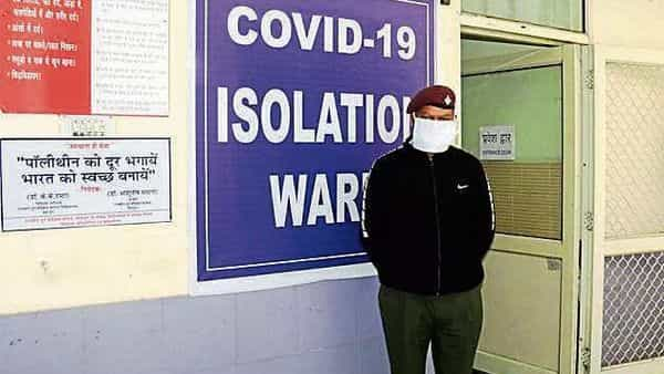 An isolation ward in Government Doon Medical College Hospital in Dehradun (HT_PRINT)