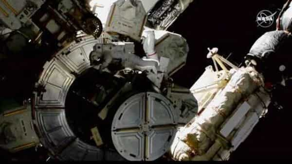 'Caught in action': NASA says as astronauts conduct fifth spacewalk of 2021. Watch video - Mint