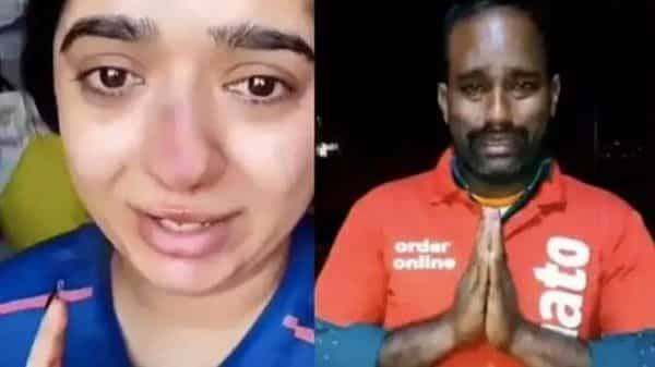 Bengaluru woman Hitesha Chandranee booked for assaulting Zomato delivery man Kamaraj thumbnail
