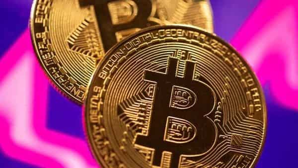 A representation of virtual currency Bitcoin. (REUTERS)