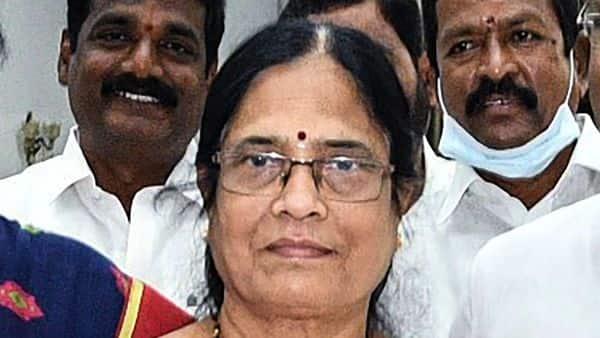 Surabhi Vani Devi, daughter of former Prime Minister late P.V. Narasimha Rao. (PTI)