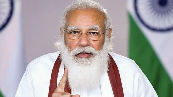 Prime Minister Narendra Modi during launch of 'Catch the Rain' campaign (PTI)