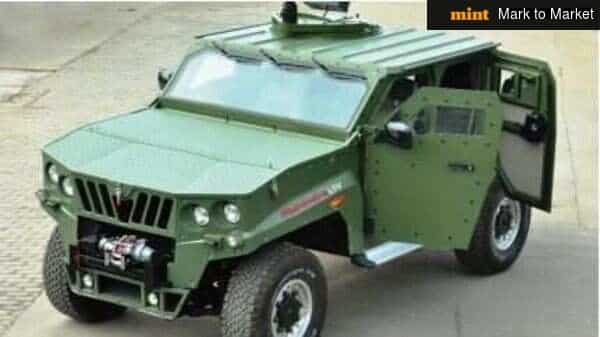 M&M's subsidiary Mahindra Defence Systems Ltd (MDS) will be manufacturing and supplying armoured tactical vehicles (LSVs) for the Indian Army