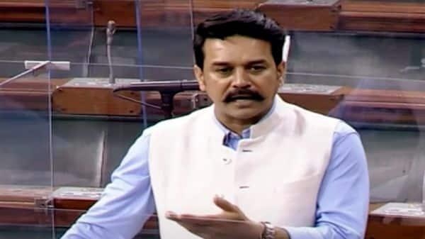 Union Minister of State for Finance Anurag Thakur  (ANI Photo)
