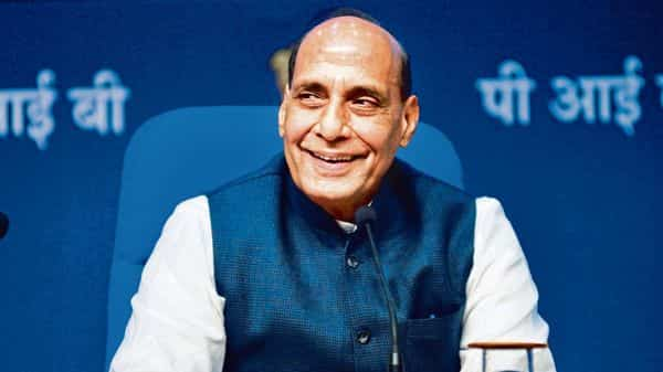 Defence minister Rajnath Singh will hold talks with his South Korean counterpart Suh Wook on Friday.mint (MINT_PRINT)