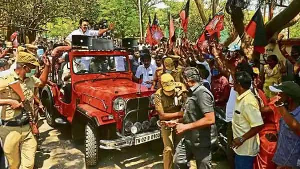 Stalin was named successor as early as in 2013 but the DMK patriarch Karunanidhi wouldn't hand over control. However, after the election loss of 2016, Stalin slowly started putting people, including his family members, in their place. (Photo: AFP)
