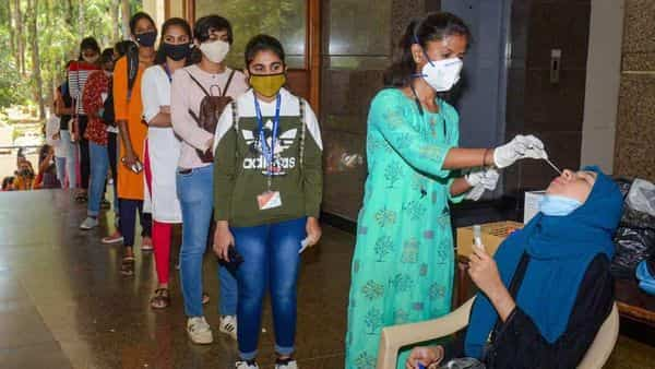 Officials also point out that children are also easily vulnerable as it is difficult for them to maintain physical distance and wearing masks for long (Photo: PTI)