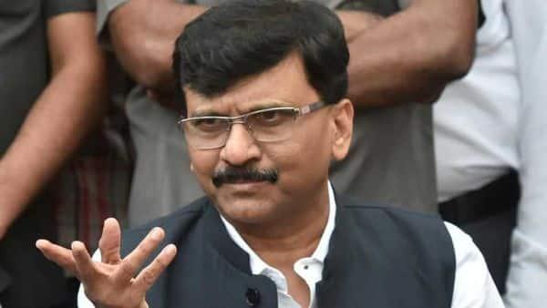 Sena leader and chief spokesperson Sanjay Raut (HT)