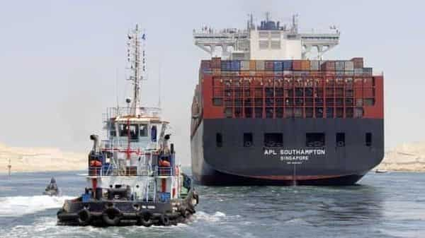 The skyscraper-sized Ever Given became stuck in the Suez Canal last Tuesday