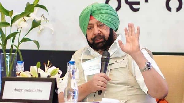 Punjab Chief Minister Capt Amarinder Singh (HT_PRINT)
