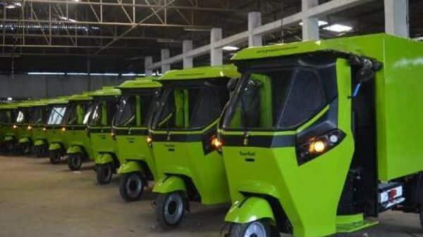 GMW SmartAuto- Most advanced electric three-wheeler (Gayam Motor Works (GMW))