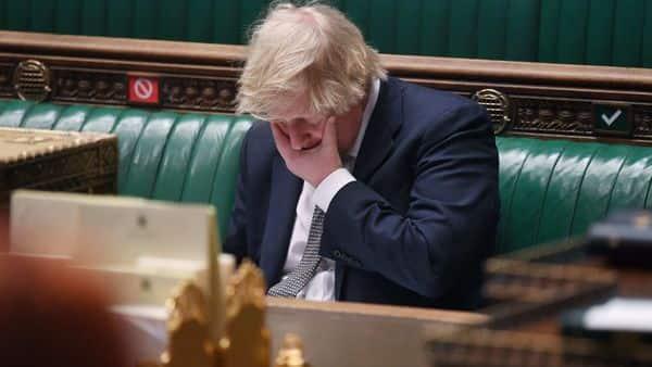 Britain's Prime Minister Boris Johnson  (AFP)
