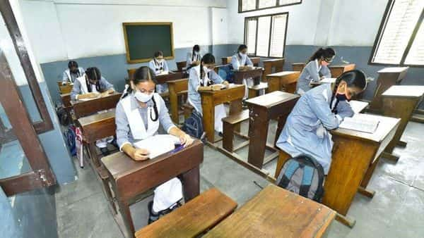 The students who studied the reduced syllabus will appear in exams in May-June. (HT)